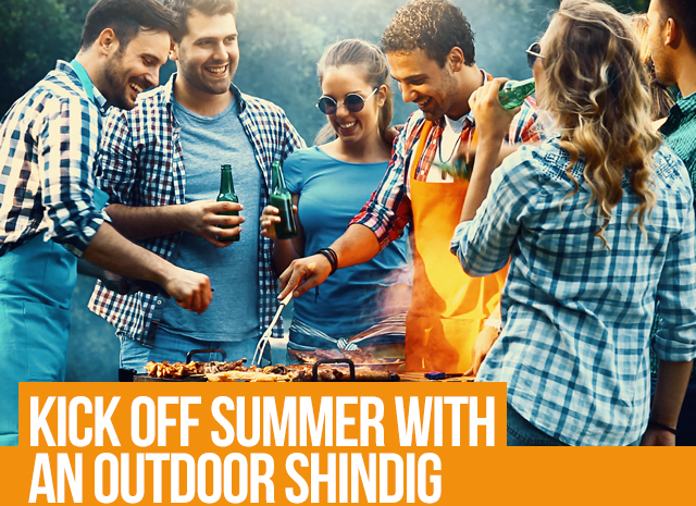 Kick Off Summer with an Outdoor Shindig