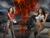 Arianny Celeste & Brittney Palmer Body Paint Session
