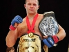 Fedor Emelianenko w/ 2 Belts