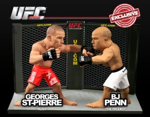 "Georges ""Rush"" St Pierre Vs Bj ""The Prodigy"" Penn UFC Versus Series 2 UFC 58 WalkOutWear.com Exclusive"