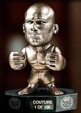 "Randy ""The Natural"" Couture UFC Titans Series 1 Limited Edition Silver Hall of Fame Variant"