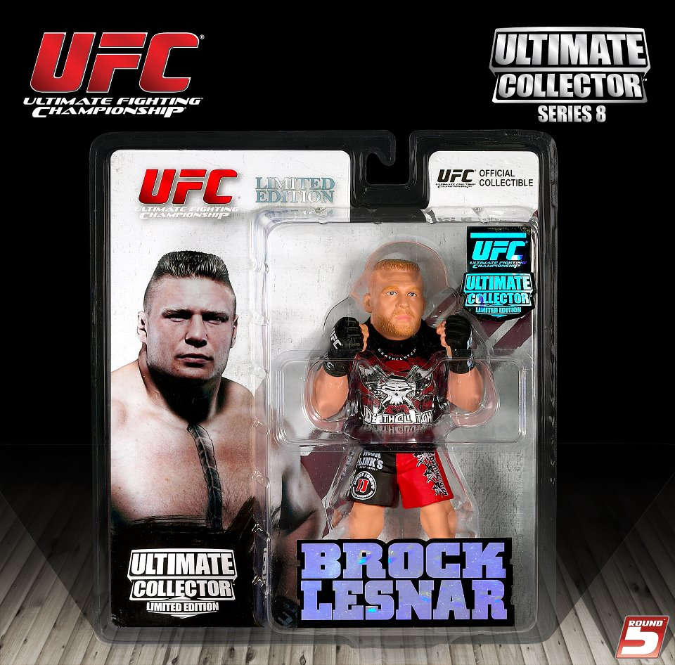 "Ryan ""Darth"" Bader UFC Ultimate Collector Series 14.5 Limited Edt ROUND5 MMA"