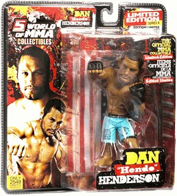 "Dan ""Hendo"" Henderson World Of MMA (WOMMA) Champions Series 4 Limited Edition"
