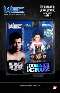 Dominick Cruz Ultimate Collector Series 10 Limited WEC 53 Edition