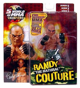 "Randy ""The Natural"" Couture World Of MMA (WOMMA) Champions Series 1 Limited Edition"