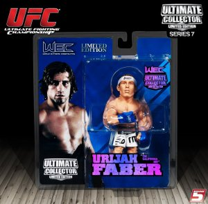 "Urijah ""The California Kid"" Faber Ultimate Collector Series 7 Limited Edition"