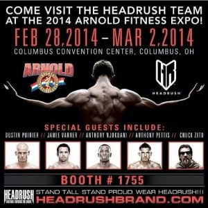 Headrush SIgnings at the Arnold Classic 2/28/14-3/2/14