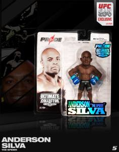"Anderson ""The Spider"" SIlva Ultimate Collector Series UFC Fan Expo 2013 Pride 25 Edition"