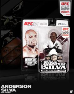 "Anderson ""The Spider"" Silva Ultimate Collector Series UFC Fan Expo 2013 Fan Expo Las Vegas UFC 117 Edition"