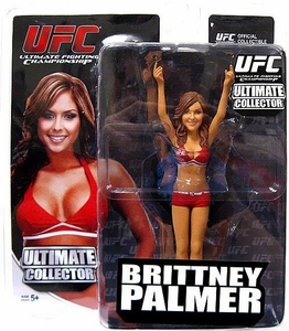 Brittney Palmer Ultimate Collector Sereis 11 UFC Red Outfit Variant