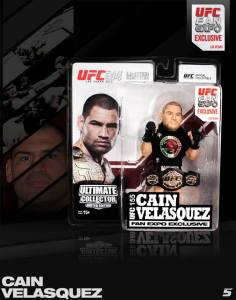 Cain Velasquez Ultimate Collector Series UFC Fan Expo 2013  Las Vegas