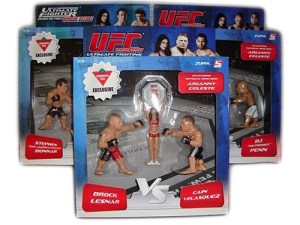 Stephan Bonnar Vs Forrest Griffin With Arianny Celeste UFC Versus Canadian Tire Exclusive 3-Pack