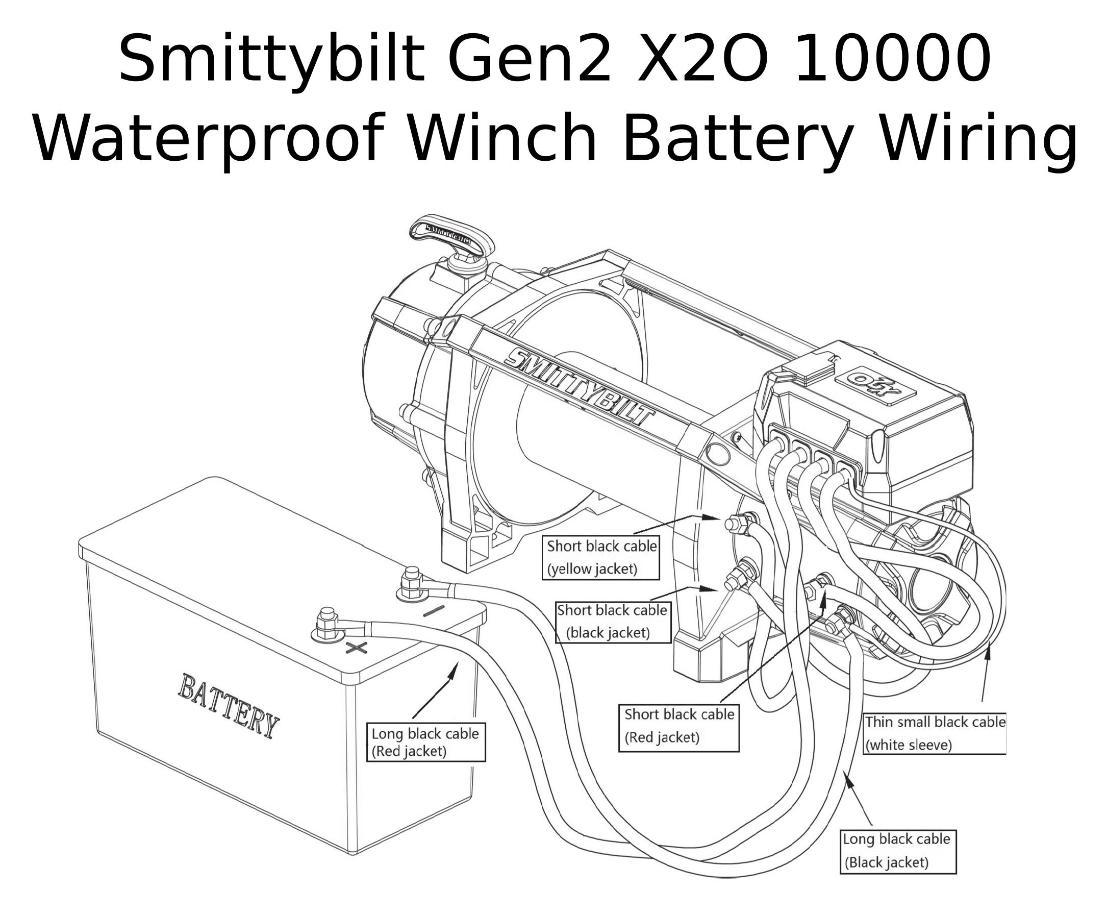 [Complete Specs] Smittybilt Gen2 X2O 10000 Waterproof