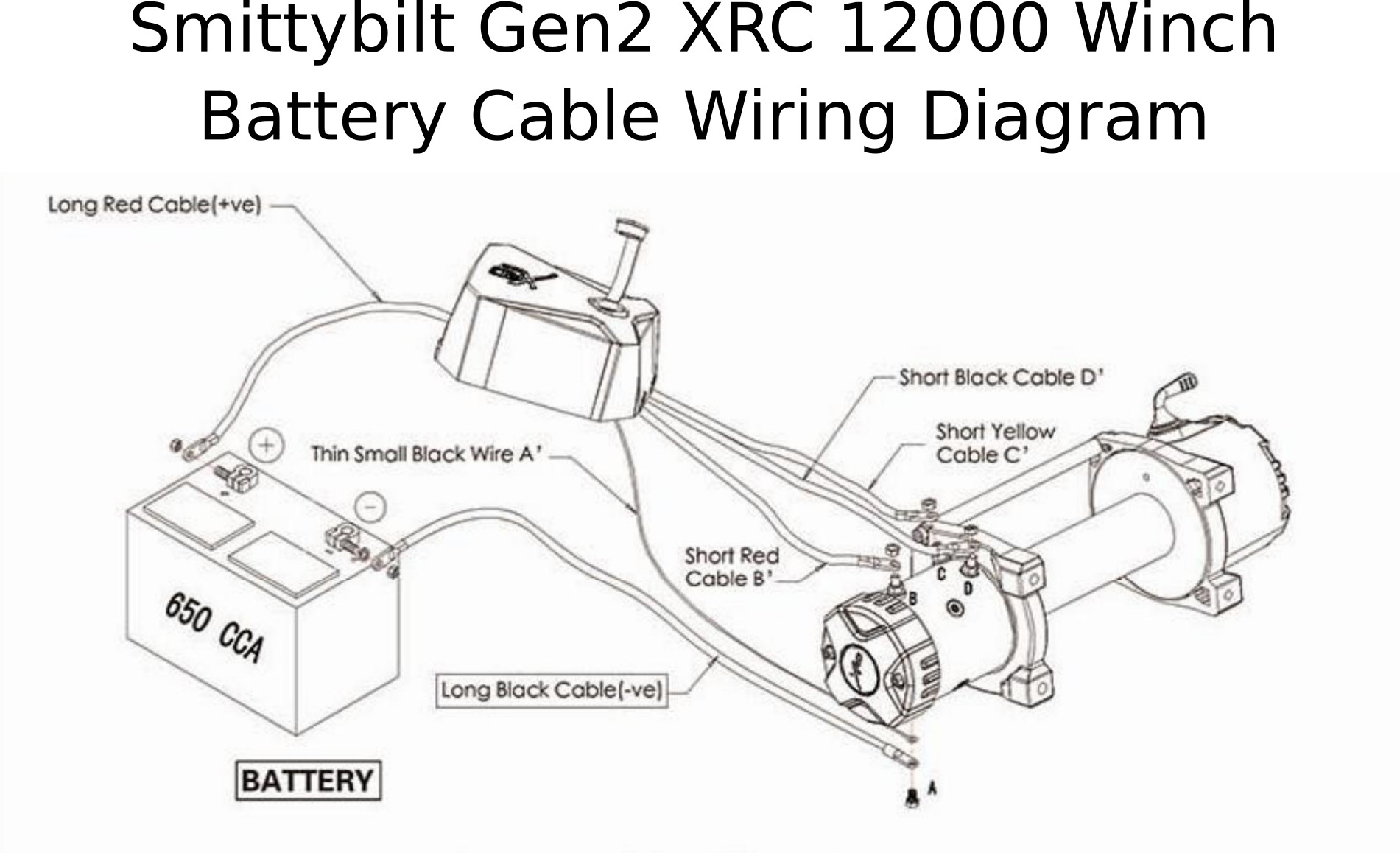Diagram Warn Winch Wiring Diagram Full Version Hd