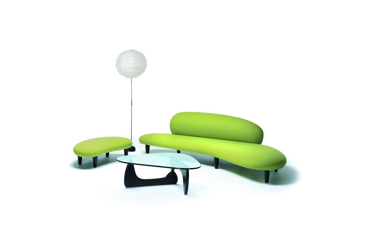 noguchi freeform sofa vitra chemical free sofas australia and ottoman round office mobilier de