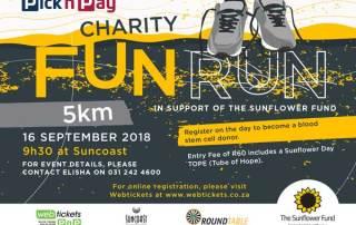 Sunflower Fund Fun Run 2018