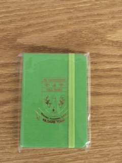 Club Note book (Green)