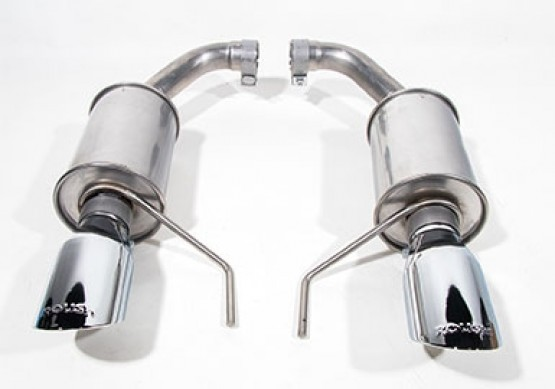 2015 2021 mustang 3 7l v6 and 2 3l ecoboost roush exhaust kit round tip 304ss