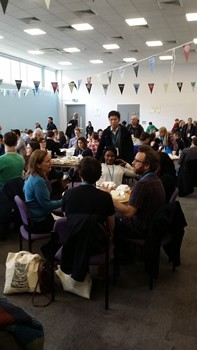 lunch at WordCamp London 2016