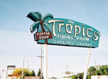 Tropics sign, 2006