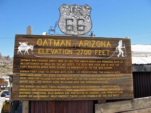 A closer look at Oatman