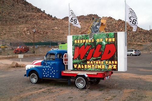 Keepers of the Wild truck