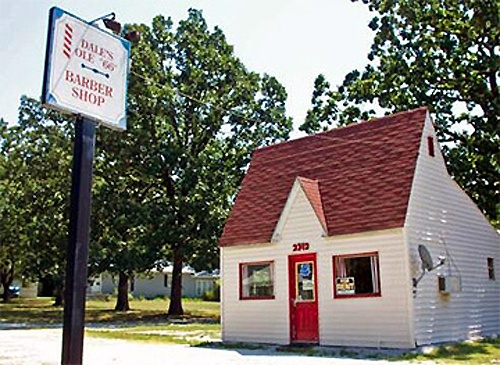 Route 66 Chamber seeks to move into historic barber shop