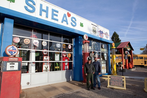 Shea's Gas Station Museum soon will be auctioned