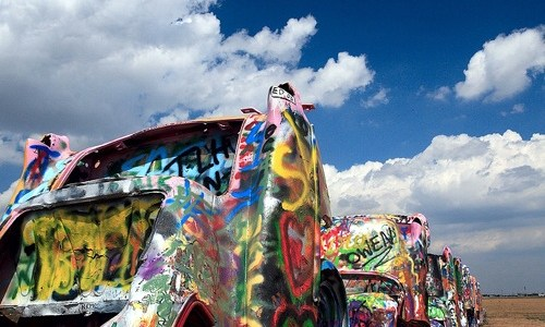Group wants to remove Cadillac Ranch