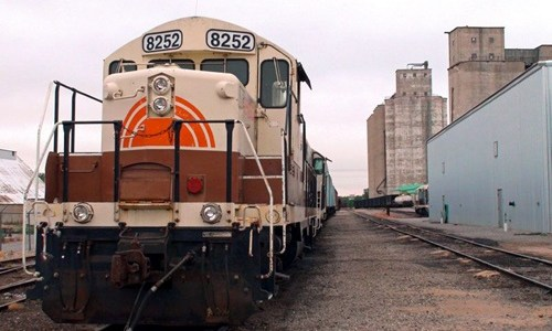 Trains return to Erick for the first time in years