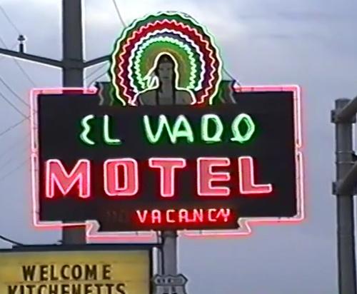 The glow of El Vado