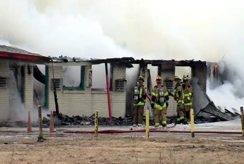 Fire damages Wildorado motel
