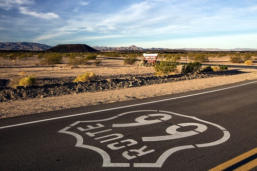 Amboy Crater, Route 66 by BLM