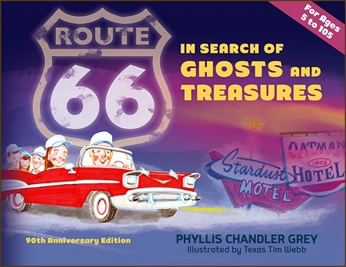 Route 66 Ghosts and Treasures cover