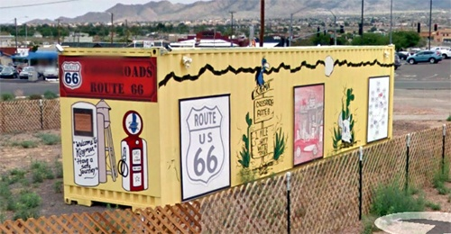 Use of shipping containers causes controversy in Kingman