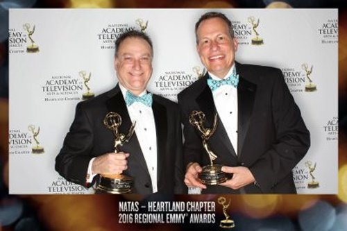 Kirkpatrick and Kudlow Emmy