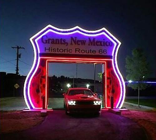 Grants soon will open Route 66 Neon Drive-Thru