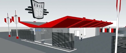 First glimpse offered of Fuel 66 food-truck court in Tulsa