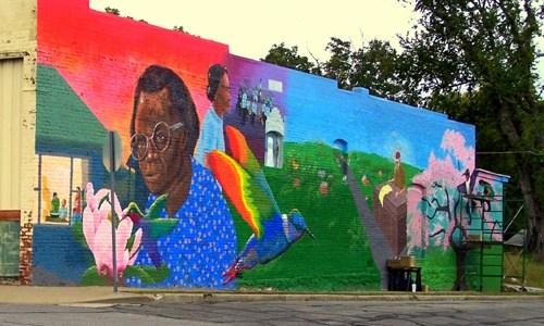 New East Town mural dedicated in Joplin