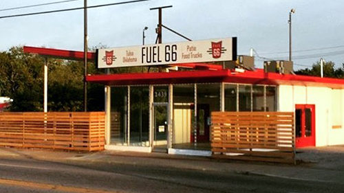 Fuel 66 food-truck park's last day is today