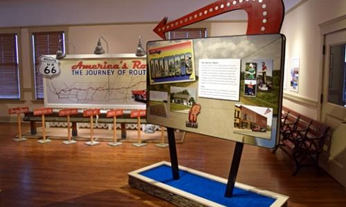 Route 66 exhibit opens Saturday at Hoover Presidential Library in Iowa
