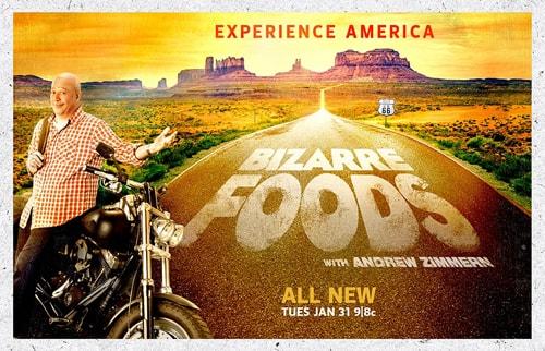 Andrew Zimmern, Bizarre Foods