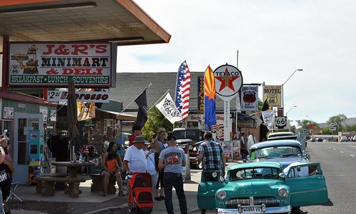 "What now would be the cities in the ""Route 66"" song?"