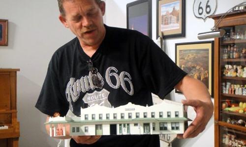 Route 66 artist Willem Bor dies