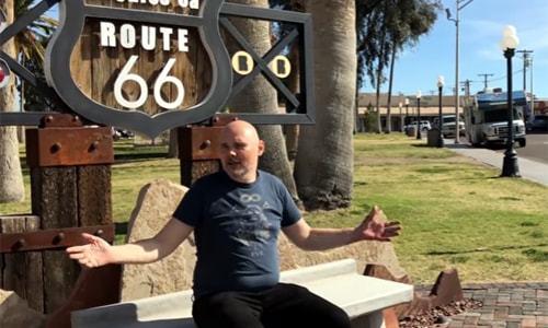 Smashing Pumpkins frontman takes Route 66 again