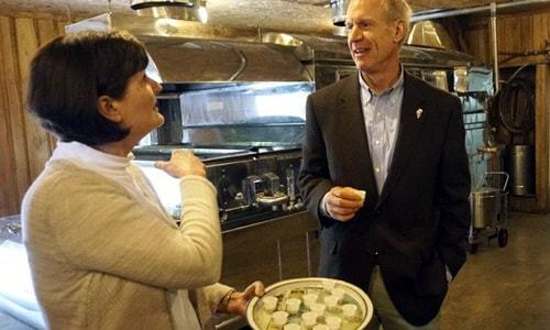 Governor visits Funks Grove Maple Sirup during small-business tour