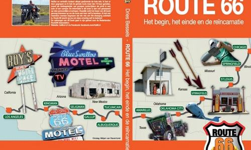 Dutch Route 66 guidebook published