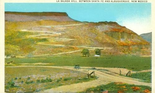 Pueblo blocks access to La Bajada Hill