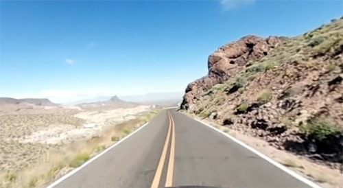 Seeing Oatman Road from all angles