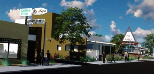 Developers unveil De Anza Motor Lodge renderings in Albuquerque